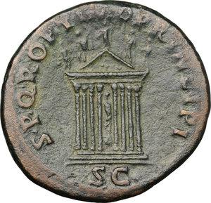 reverse: Trajan (98-117).. AE As, 103-111
