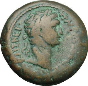 obverse: Trajan (98-117).. AE Drachm, Alexandria mint, 98-99 AD