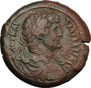 obverse: Hadrian (117-138).. AE Drachm, Alexandria mint, 127-128 AD