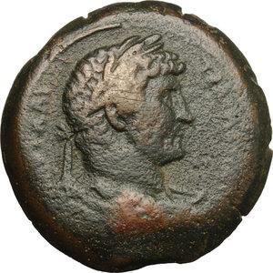 obverse: Hadrian (117-138).. AE Drachm, Alexandria mint, 130-131 AD