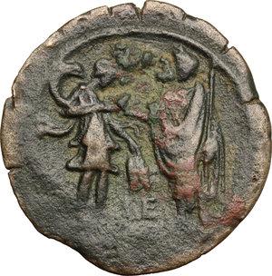 reverse: Hadrian (117-138).. AE Drachm, Alexandria mint, 130-131 AD