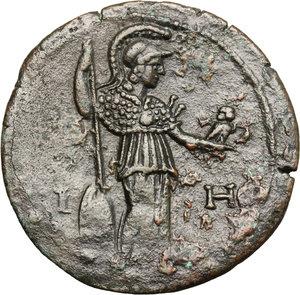 reverse: Hadrian (117-138).. AE Drachm, Alexandria mint, 133-134 AD