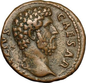 obverse: Aelius (Caesar, 136-138).. AE As, 137 AD