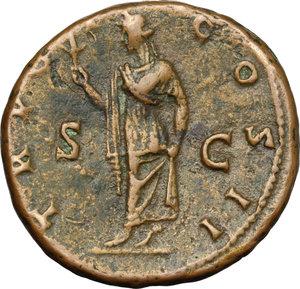 reverse: Aelius (Caesar, 136-138).. AE As, 137 AD