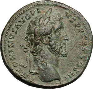 obverse: Antoninus Pius (138-161).. AE Sestertius, Rome mint, 140-144 AD