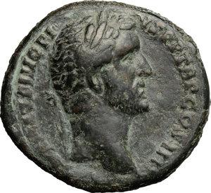 obverse: Antoninus Pius (138-161).. AE As, Rome mint, 145-161 AD