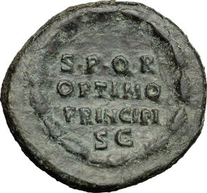 reverse: Antoninus Pius (138-161).. AE As, Rome mint, 145-161 AD