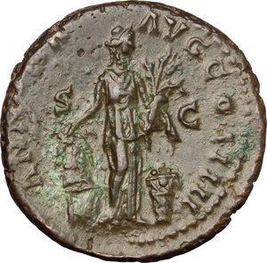 reverse: Antoninus Pius (138-161).. AE As, 153-154 AD