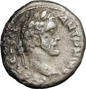 obverse: Antoninus Pius (138-161) with Marcus Aurelius Caesar.. BI Tetradrachm, Alexandria mint, Egypt