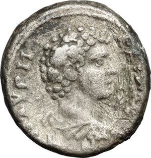 reverse: Antoninus Pius (138-161) with Marcus Aurelius Caesar.. BI Tetradrachm, Alexandria mint, Egypt