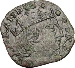 Napoli.  Ferdinando I d Aragona (1458-1494). Cavallo con sigla T in esergo, Gian Carlo Tramontano maestro di zecca