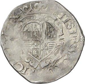 Napoli.  Filippo IV (1621-1665).. Tarì 1622, sigle MC/C, Michele Cavo maestro di zecca e Francesco Antonio di Costanzo maestro di prova