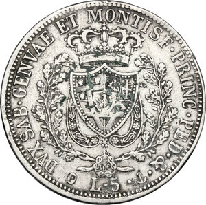 Reverse image of coin 833