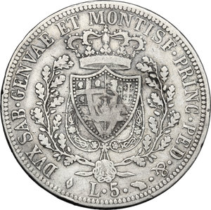 Reverse image of coin 834