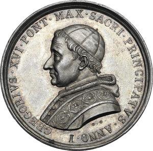 Gregorio XVI (1831-1846), Bartolomeo Alberto  Cappellari. Medaglia A. I
