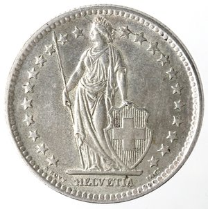 obverse: Monete Estere. Svizzera. 2 Franchi 1946. Ag 835. BB+.