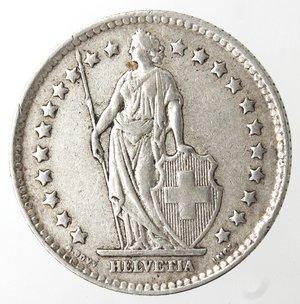 obverse: Monete Estere. Svizzera. Franco 1939. Ag 835. BB.