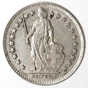 obverse: Monete Estere. Svizzera. Mezzo Franco 1946. Ag 835. BB.
