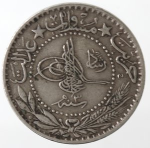 obverse: Monete Estere. Turchia. 20 Para. Ni. BB.