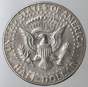 reverse: Monete Estere. Usa. Mezzo Dollaro Kennedy 1969 D. Ag 400. BB.