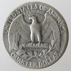 reverse: Monete Estere. Usa. Quarto di Dollaro Washington 1947. Ag. MB.