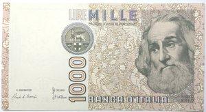 obverse: Banconote. Repubblica Italiana. 1.000 lire Marco Polo. Dec. Min. 8-01-1082. Gig. BI57A. SPL.