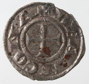 obverse: Zecche Italiane. Ancona. Repubblica, monetazione autonoma. Denaro XII e XIII secolo. Mi. Peso gr. 0,65. BB+.