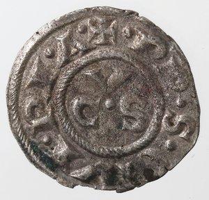 reverse: Zecche Italiane. Ancona. Repubblica, monetazione autonoma. Denaro XII e XIII secolo. Mi. Peso gr. 0,65. BB+.