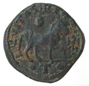 reverse: Zecche Italiane.L Aquila. Ferdinando I d Aragona. 1458-1494. Cavallo aquila davanti la zampa. Peso gr. 2,52. Diametro mm. 19. MB-BB.