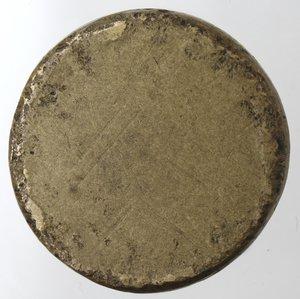 reverse: Zecche Italiane.Genova.Peso Monetale della Doppia.Ae. Peso gr. 25,16.Diametro mm. 28,50. qBB.