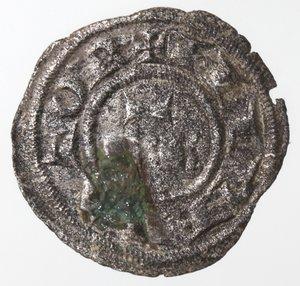 reverse: Zecche Italiane. Messina. Federico II. 1197-1250. Denaro. F.R. Mi. Sph. 109. Peso gr. 0,50. BB.
