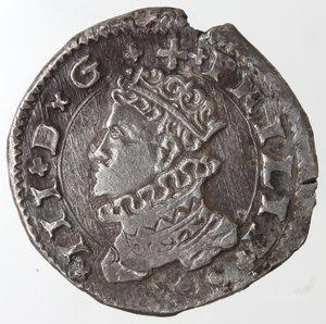 obverse: Zecche Italiane.Messina.Filippo III. 1598-1621.3 tarì 1609.Ag. Sp.42.Peso gr. 7,66. Diametro mm. 25. SPL.Conservazione eccezionale.