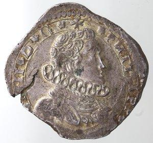 obverse: Zecche Italiane.Messina.Filippo IV. 1621-1665.4 tarì 1648, IP-MP.MIR 355/20. Sp. 22. Ag.Peso gr. 10,52. Diametro mm. 32. Rottura di conio altrimenti SPL.