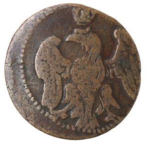 obverse: Zecche Italiane. Modena. Francesco III d Este. 1737-1780. Bolognino. Ae. CNI 71. Peso gr. 2,41. MB-BB.