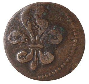 obverse: Zecche Italiane. Modena. Francesco III d Este. 1737-1780. Soldo. Ae. CNI 72. Peso gr. 1,59. BB.