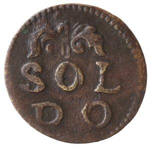 reverse: Zecche Italiane. Modena. Francesco III d Este. 1737-1780. Soldo. Ae. CNI 72. Peso gr. 1,59. BB.