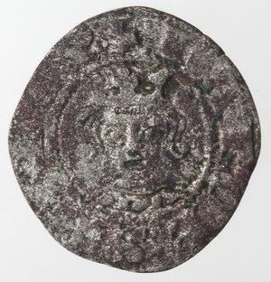 obverse: Zecche Italiane. Napoli. Carlo II d Angiò. 1285-1309. Denaro Regale. Mi. P.R. 4. Peso gr. 0,63. Diametro mm. 17. BB. NC.