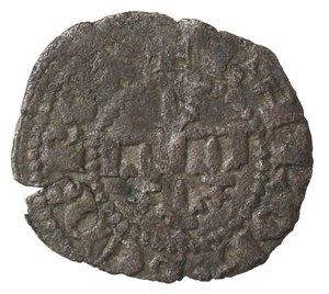 reverse: Zecche Italiane. Napoli. Carlo II d Angiò. 1285-1309. Denaro gherardino.Mi. D/ Quattro gigli. R/ Croce. P.R.5. Peso gr. 0,45.