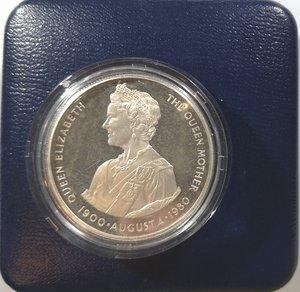 reverse: Monete Estere. Falkland. 50 pence 1980. Ag 925. Km. 15a. Peso gr. 28,28. FDC Proof. In confezione.