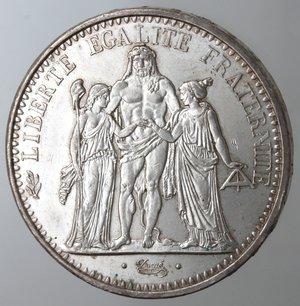 reverse: Monete Estere. Francia. 10 Franchi 1965. Ag. Km. 932. Peso gr. 25. Diametro mm. 37.qFDC.