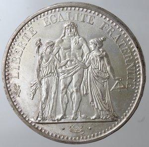 reverse: Monete Estere. Francia. 10 Franchi 1967. Ag. Km. 932. Peso gr. 25. Diametro mm. 37.qFDC.
