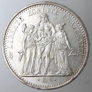 reverse: Monete Estere. Francia. 10 Franchi 1968. Ag. Km. 932. Peso gr. 25. Diametro mm. 37.qFDC.