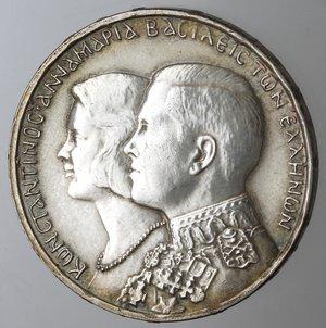 obverse: Monete Estere. Grecia. Costantino II. 1964-1973. 30 Dracme 1964. Ag 835. Km. 856. Peso gr. 12. Diametro mm. 30,30. qSPL. Lucidata al diritto.
