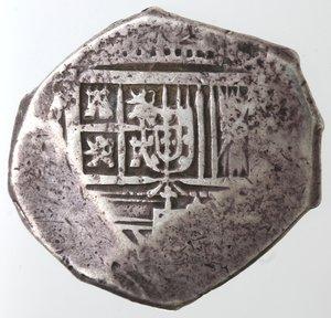 obverse: Monete Estere. Messico. Filippo IV Re di Spagna. 1621-1665. 8 Reales. Ag. Peso 27,01 gr. Diametro 34 mm. MB.