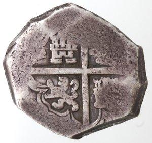 reverse: Monete Estere. Messico. Filippo IV Re di Spagna. 1621-1665. 8 Reales. Ag. Peso 27,01 gr. Diametro 34 mm. MB.