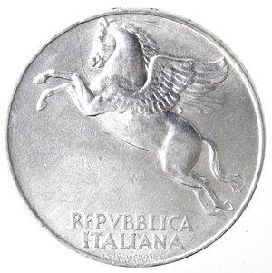 obverse: Repubblica Italiana. 10 lire 1948 Ulivo. It. Gig 231. BB. Colpetti al bordo. NC.