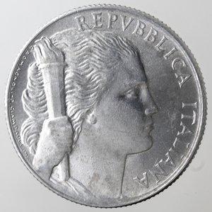 obverse: Repubblica Italiana. 5 lire 1950 Uva. It. Gig.281. qFDC.