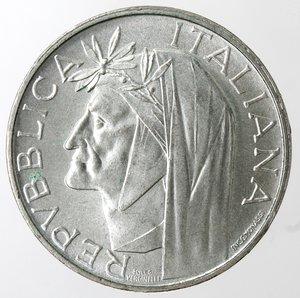 obverse: Repubblica Italiana. 500 Lire 1965 Dante. Ag. Gig. 42. qFDC.