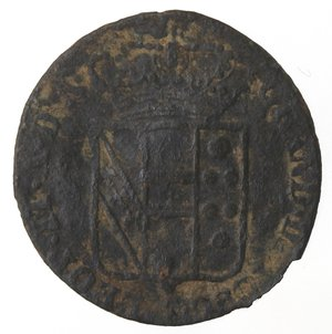 obverse: Zecche Italiane. Firenze. Leopoldo II. Quattrino 1840. AE. MB.