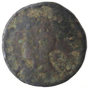 obverse: Zecche Italiane. Napoli. Filippo IV. Pubblica da tre tornesi 1622?. AE. qMB.